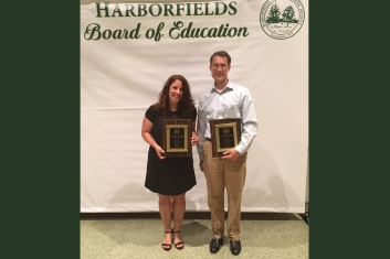 HACEF Honored by Harborfields Board of Education